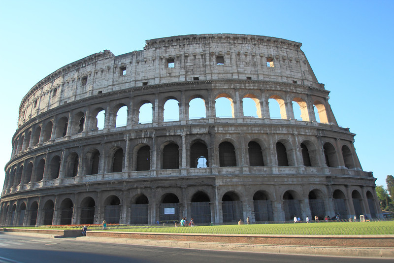 The Colosseum!