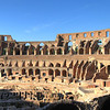 Inside of the Colosseum. The stuff on the ground level would have been covered by a wood floor; it's the staging areas, where animals and props (i.e. gladiators) were kept.