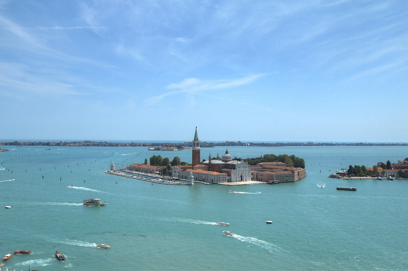 San Giorgio Maggiore. Obviously only reachable by boat.