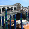 Rialto bridge. This was the first commercial center of Venice.