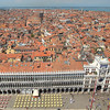 From the tower in St. Mark Square