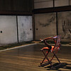 An empty room with just one chair
