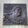 Statue to Babe Ruth, who played an exhibition game at this field