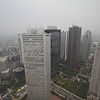 From the rooftop observatory at the Metropolitan Government Building. Unfortunately it was cloudy and rainy this day.