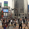 Shibuya, the busiest intersection in the world for pedestrian traffic