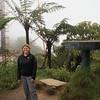 Nikki on top of Mt. Brinchang