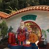 Creepy old dude statue at Nan Tian Tong temple.