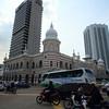 Bustling city centre