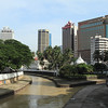 """Jamek Mosque at the confluence of Gombak and Klang rivers. Kuala Lumpur means """"muddy confluence"""", and these rivers really are disgusting."""