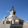 There are 108 stupas at Erdene Zuu. That number is probably auspicious or something