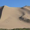 This is our route up the dune. The dunes here are about 500 meters tall