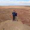 At Tsagaan Suvarga in the Gobi desert