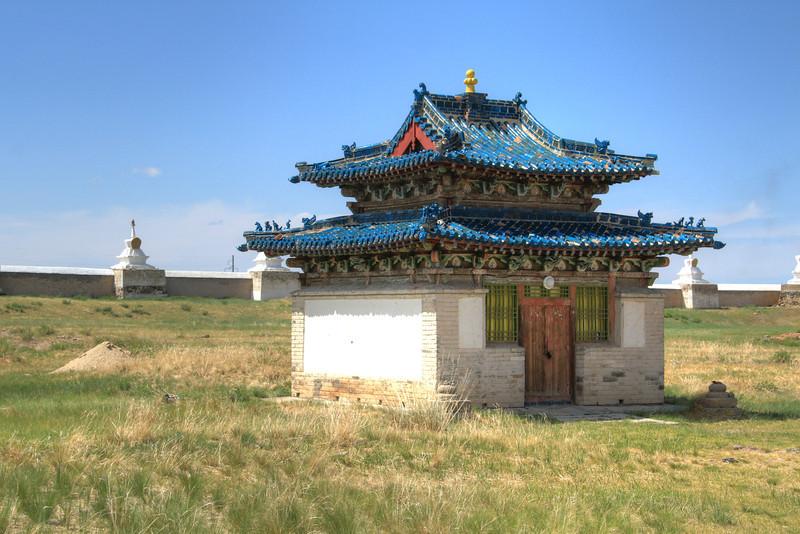 A small building at Erdene Zuu