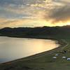Sunset at White Lake