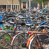 Bike parking lot