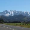 The Seaward Kaikoura mountains, on Highway 1