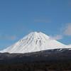 Tongariro's mountains from Highway 6 going down to Wanganui
