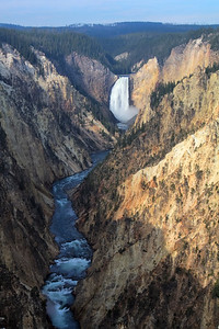 Grand Canyon of Yellowstone and Yellowstone falls