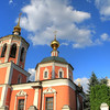There are old, gold-domed churches everywhere in Moscow