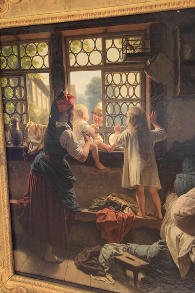"""This was one of my favorite paintings, """"Good morning father"""""""