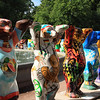Bears for each country of the world. This was an exhibition in the park close to the Hermitage