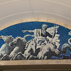 Mosaic in the subway station