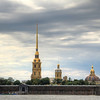 Peter and Paul Fortress from the other side of the river