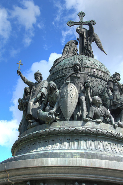 Millennium of Russia monument, created in 1862