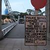 Cavenagh Bridge, Singapore's oldest still standing.