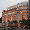 Fullerton Hotel, formerly Singapore's general post office.