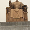 Sejong the Great, who is credited with inventing Hangul, the written language used in Korea today.