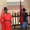 Gate guards at Gyeongbok-gung Palace