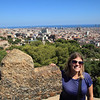 Highest point on Carmel Hill, Parc Güell