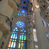 The nave is finished, except for a lot of the stained glass. Inside is just amazing