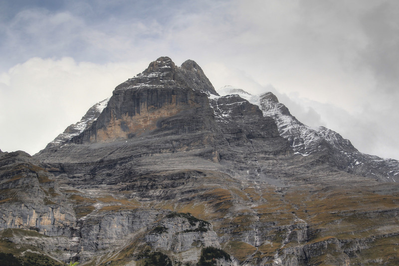 Mountain across the valley