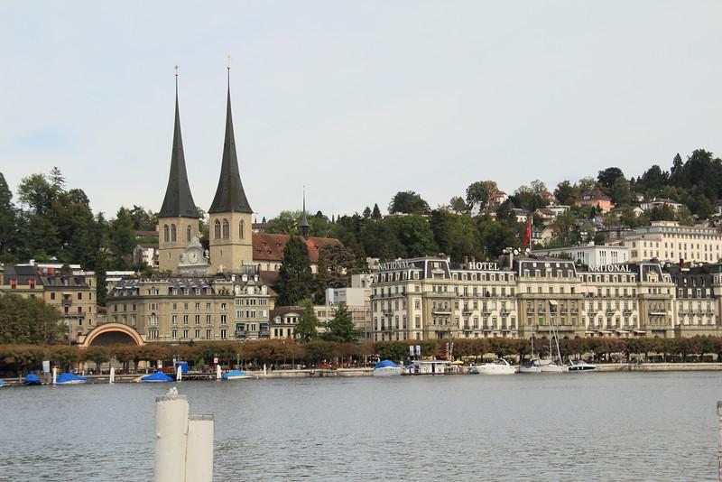 The Reuss River