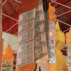 At one temple, money was hanging from the ceiling, and a lot of it. Donations for the new year.