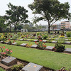Kanchanaburi War Cemetary, resting place of almost 7,000 Commonwealth and Dutch PoWs.