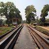 Tracks on the Bridge over River Kwai