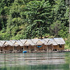 Our floating raft house