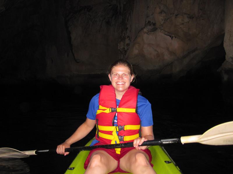 Nikki in the emerald cave