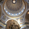 The main dome. The Statue of Liberty (on her pedestal) could fit inside this dome with room to spare.