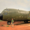 C-130 at Khe Sanh
