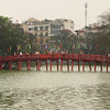 Bridge to Ngoc Son temple