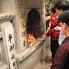 At all the temples we visited, people were burning piles of spirit money in big furnaces. Made the air pretty polluted.