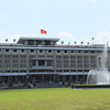 Independence Palace, the place where the South Vietnamese president lived and the War ended.