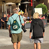Green Bay Packers fan, in Prague