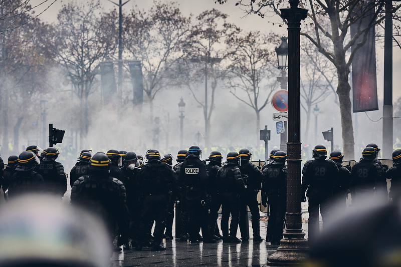 Protests in Paris, 01.12.2018