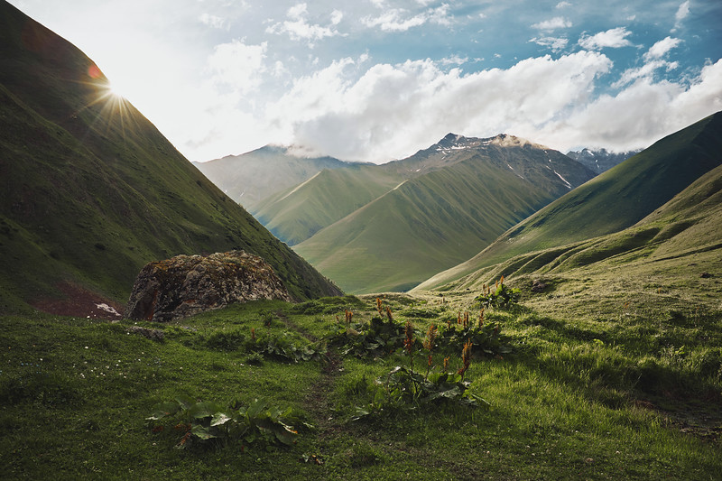 Caucasus, Georgia, July 2019