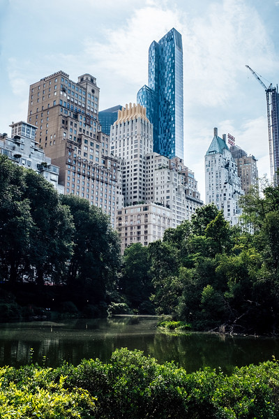 Central Park (New York City), July 2017